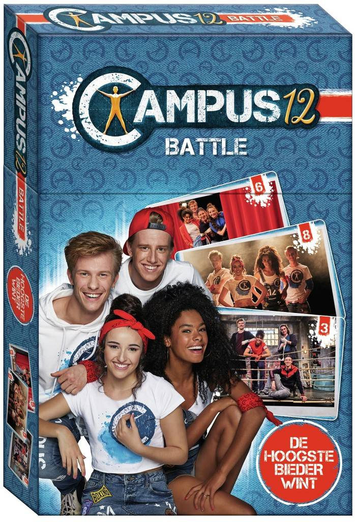 Campus 12 Kaartspel - Battle