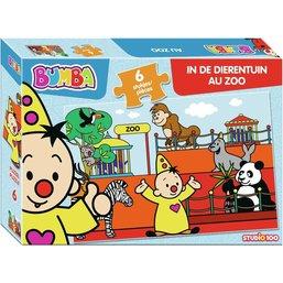 Bumba puzzle: Au Zoo 6 pcs
