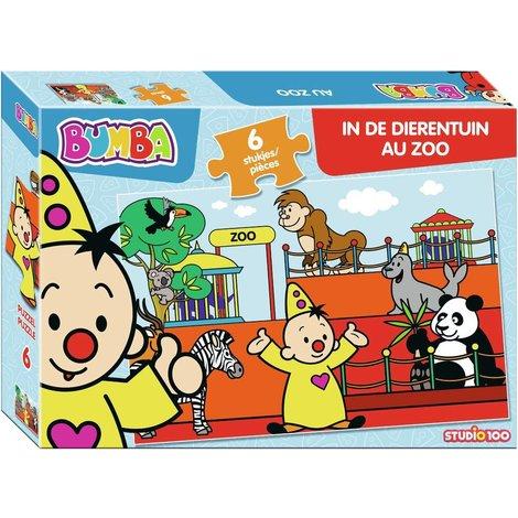 Puzzel Bumba in de dierentuin: 6 stukjes