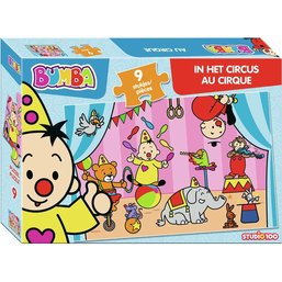 Bumba puzzle: Au Cirque 9 pcs