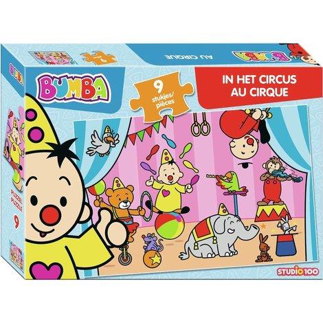 Puzzel Bumba in het circus: 9 stukjes