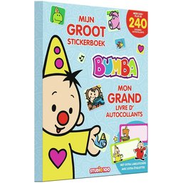 Stickerboek Bumba: mijn groot stickerboek
