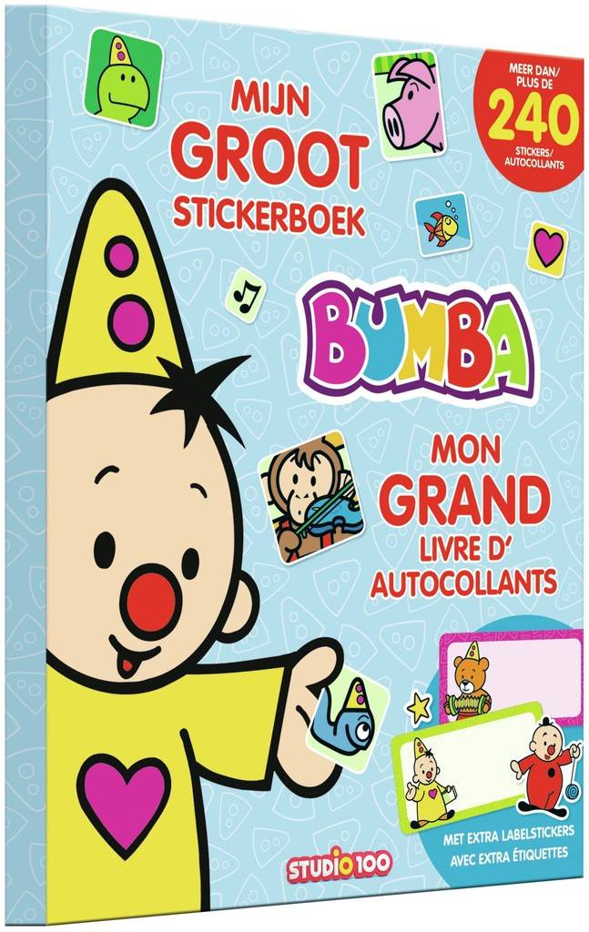 Stickerboek Bumba: mijn groot stickerboek
