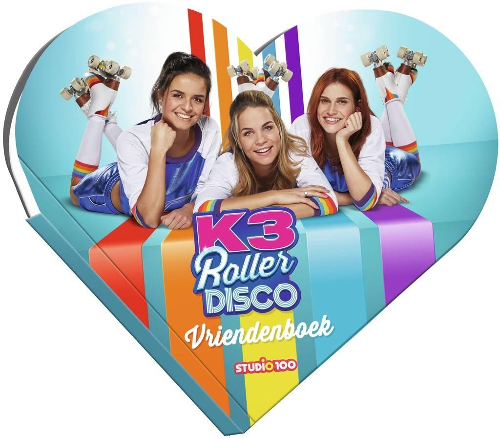 Vriendenboek K3: Roller disco