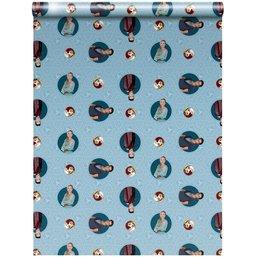 Kaftpapier Nachtwacht: 2x vel 100x70 cm