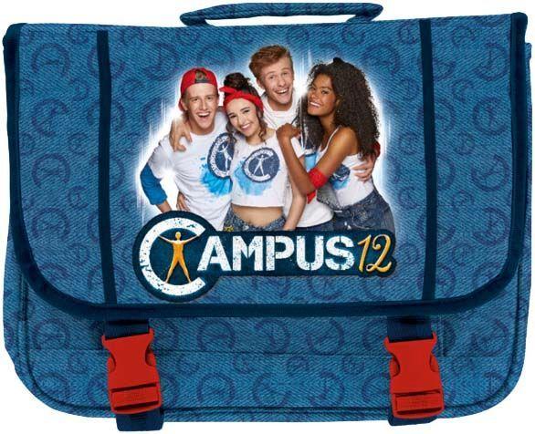 School rugzak Campus 12: 32x42x10 cm