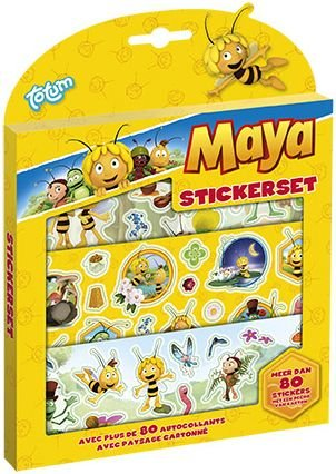Sticker set Maya ToTum: 80+ stickers