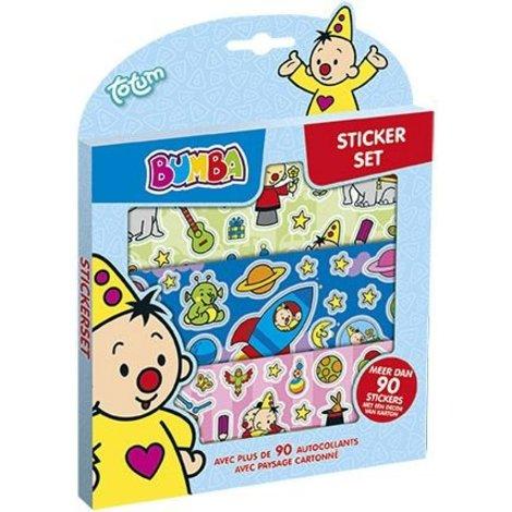 Sticker set Bumba ToTum 90+ stickers