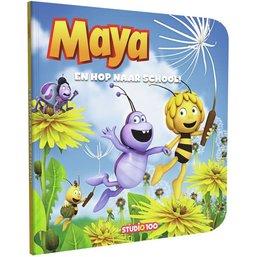 Boek Maya boek: en hop naar school