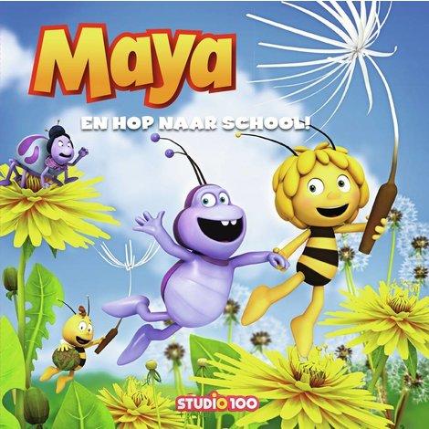 Boek Maya boek en hop naar school