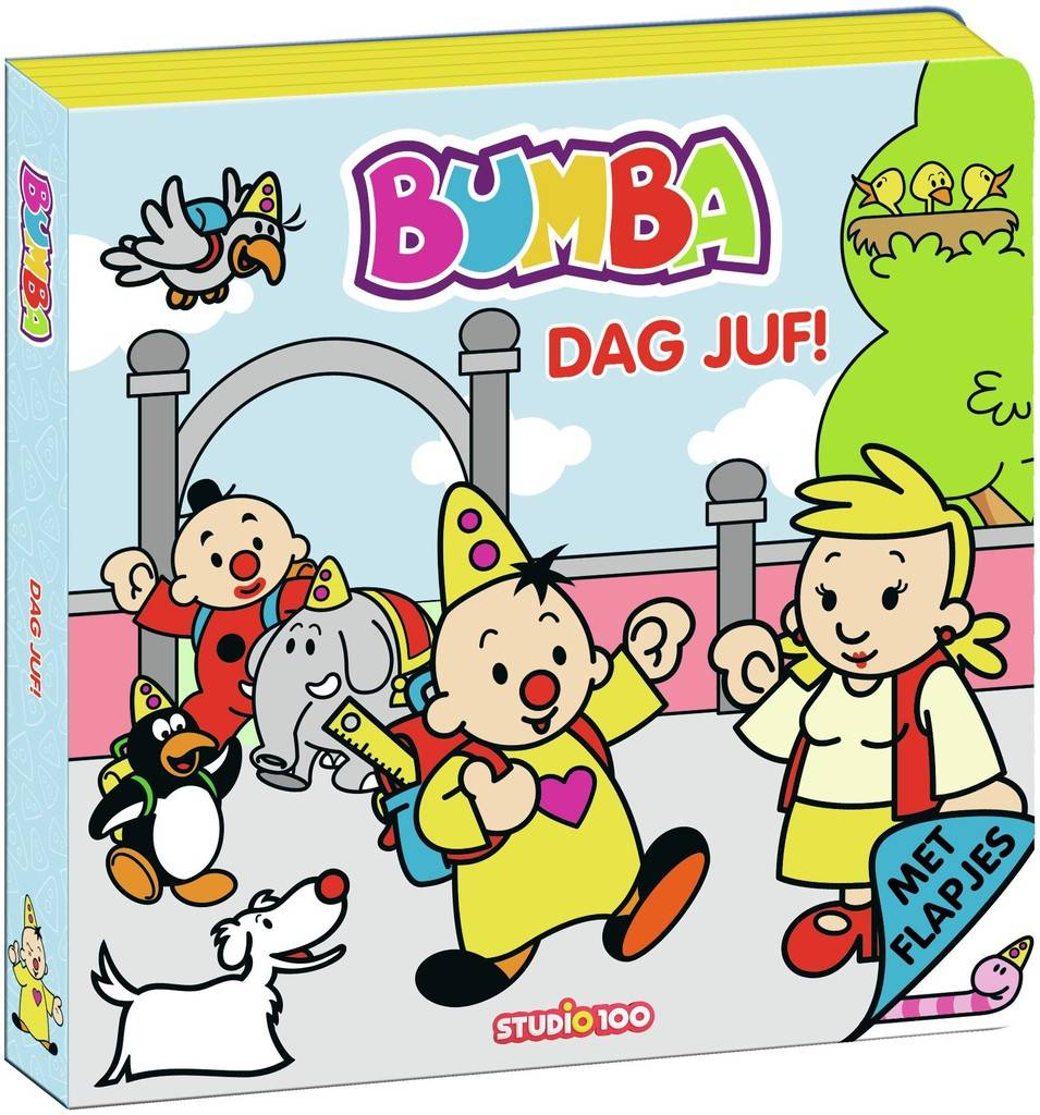Boek Bumba flapjes: dag juf