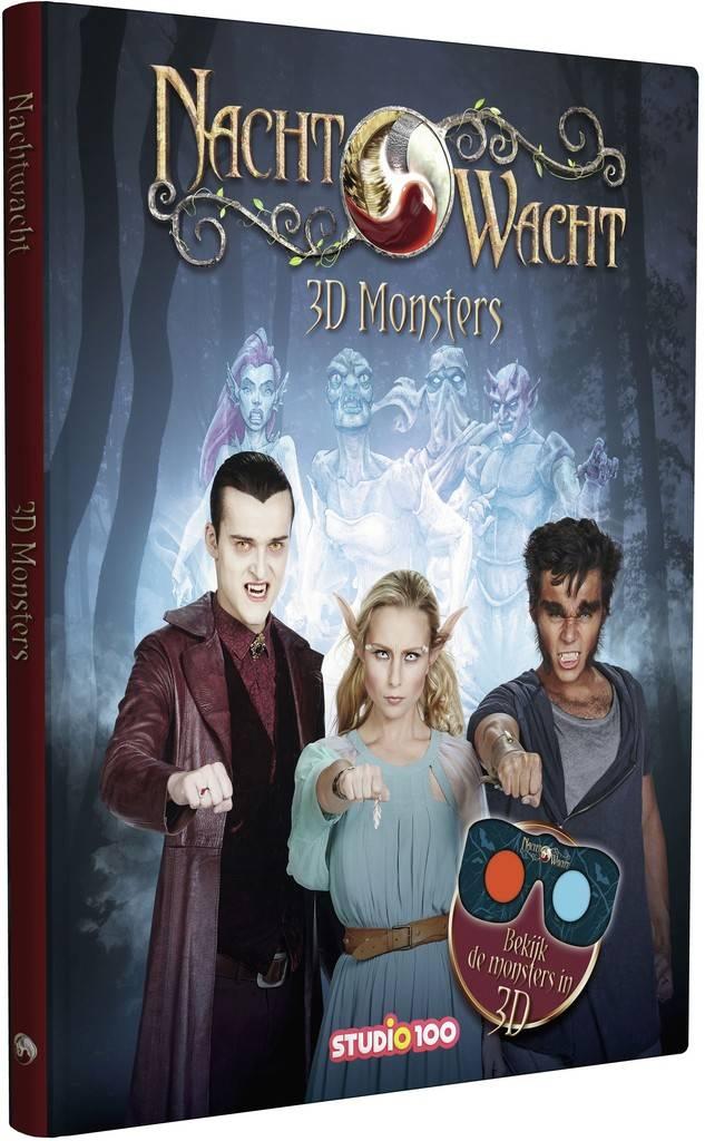 Boek Nachtwacht: 3d monsters