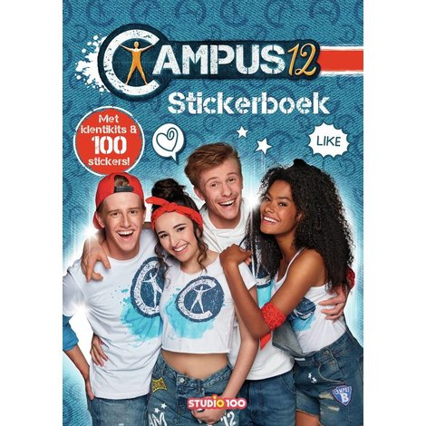 Stickerboek Campus 12