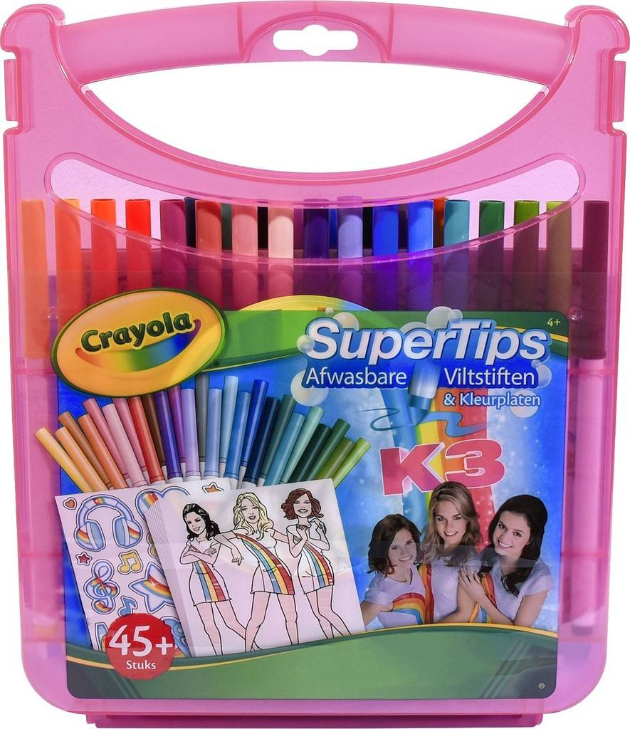 Viltstiften Kleurkoffer K3 Crayola