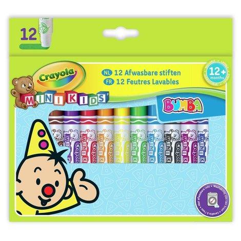 Viltstiften bolle punt Bumba Crayola 12 stuks