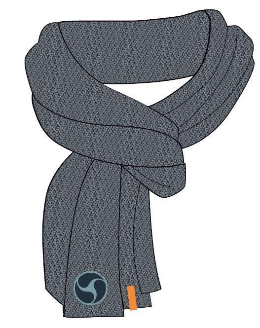 Sjaal Nachtwacht vleermuis