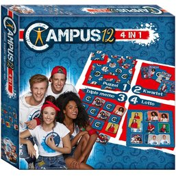 Spel 4 in 1 Campus 12