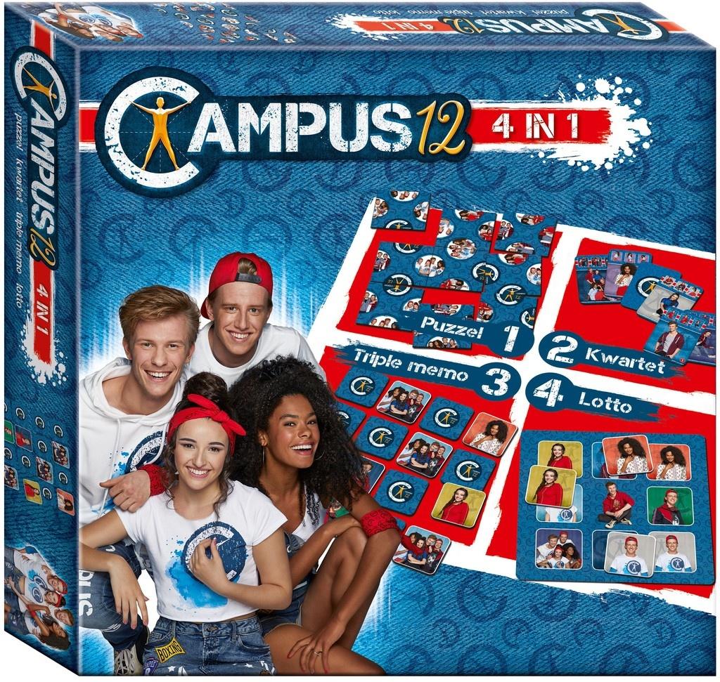 Spel 4 in 1 Campus 12