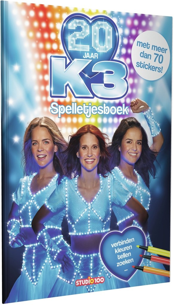 Doeboek K3: 20 jaar