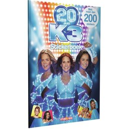 Stickerboek K3 20 jaar