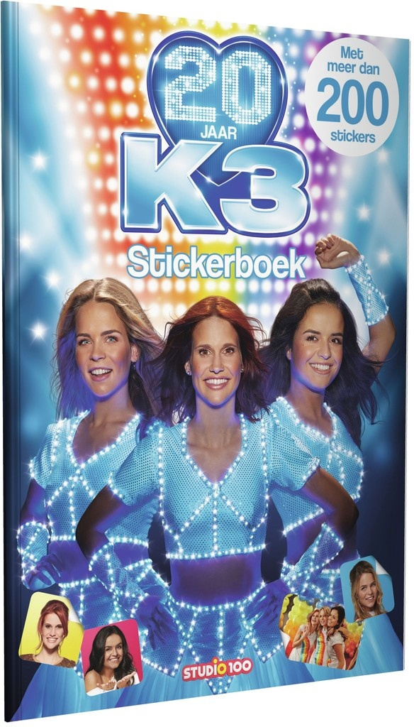 Stickerboek K3: 20 jaar