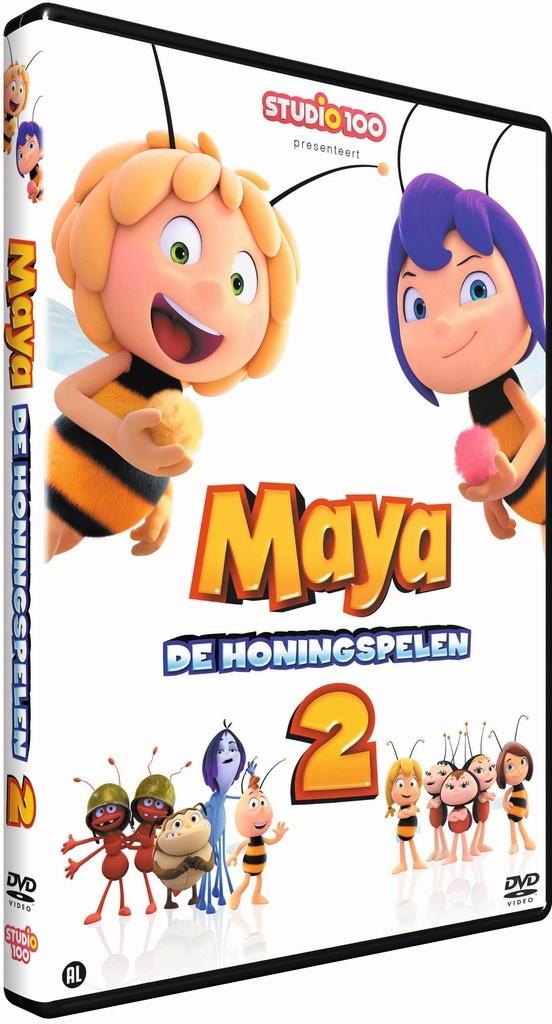 Maya DVD - De honingspelen 2