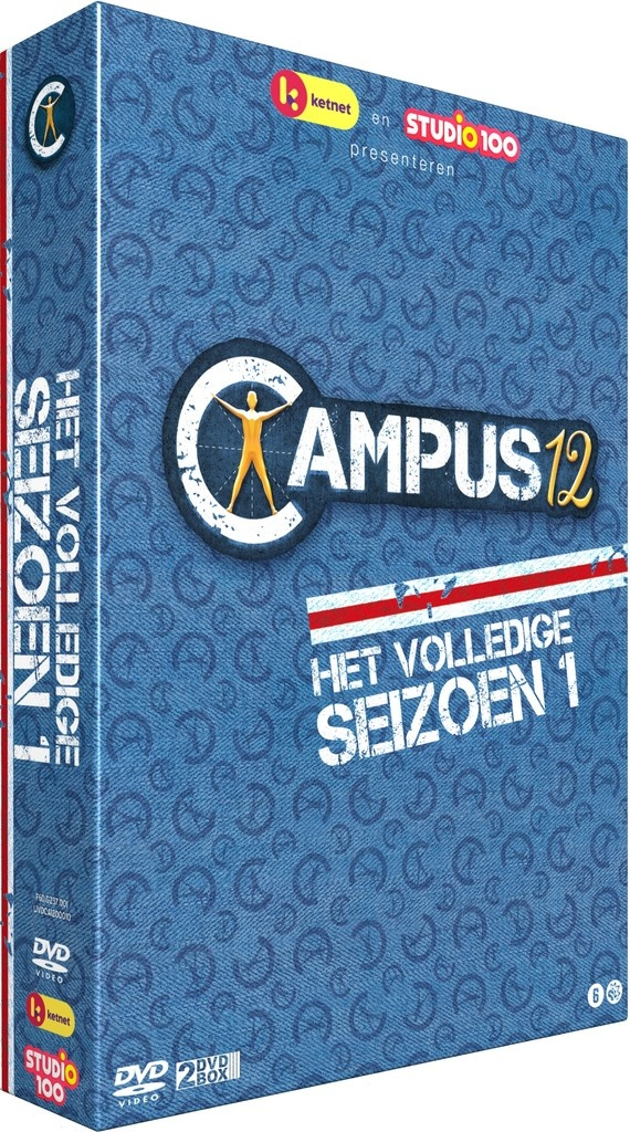 Dvd box Campus 12: seizoen 1