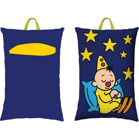 Kussen Bumba met pyjama houder