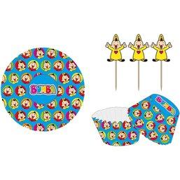 Cupcake vormpjes Bumba: 24 stuks