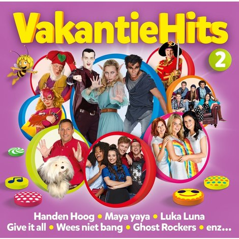 Cd Studio 100: vakantiehits vol. 2