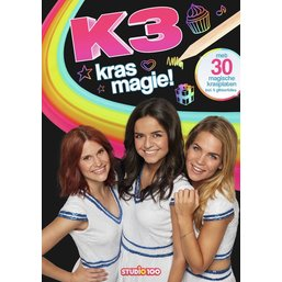 Kleurboek K3 scratch off