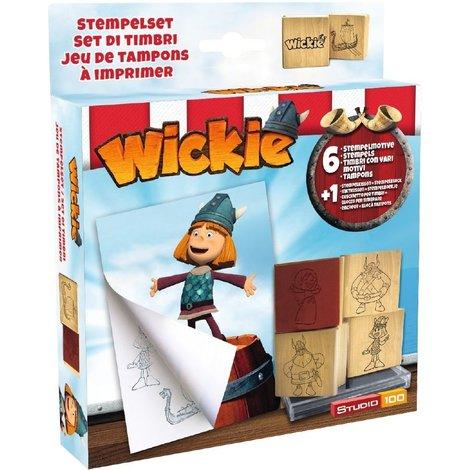 Wickie de Viking Stempelset