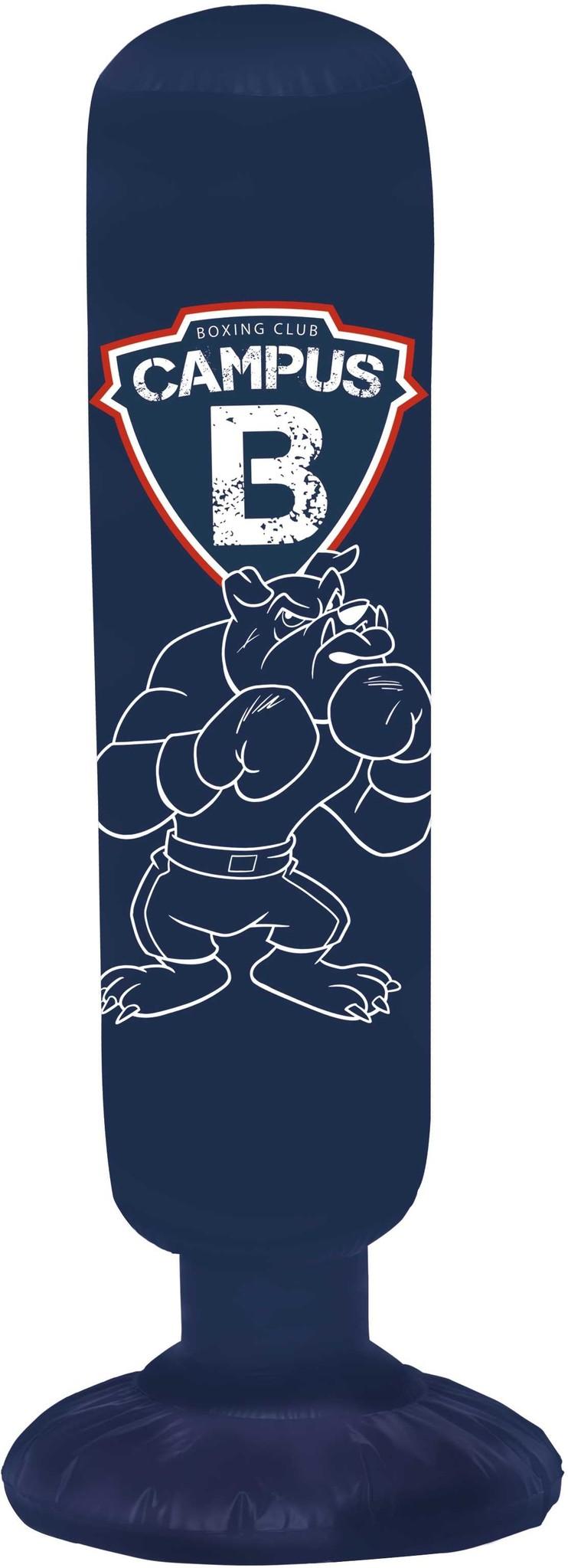 Droom jij er ook van een stoere bokser te worden zoals Noah en ooit eens echt in de boksring te staan? Train je spieren alvast door te oefenen op de opblaasbare boksbal van Campus 12. Boksen maar!