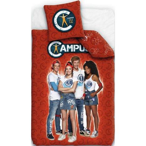 Nachtmerries zijn verleden tijd dankzij het flanellen dekbedovertrek van Campus 12. Noah en Sam nemen je mee naar dromenland voor de coolste avonturen!