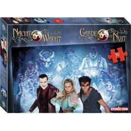 Nachtwacht : puzzle de monstres