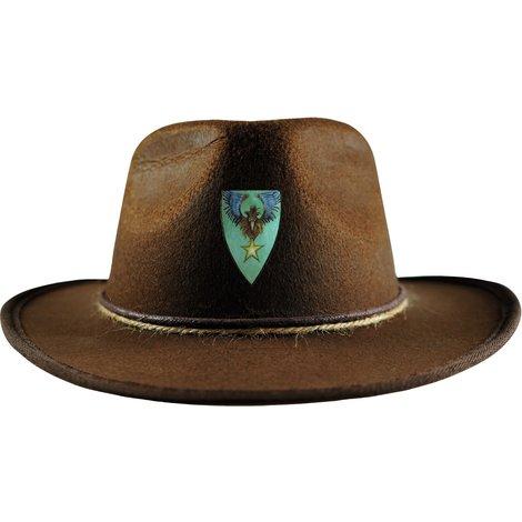 De outfit van een sheriff is niet compleet zonder hoed! Met deze hoed zie je er net uit als Cooper en kan je de Nachtwacht helpen!
