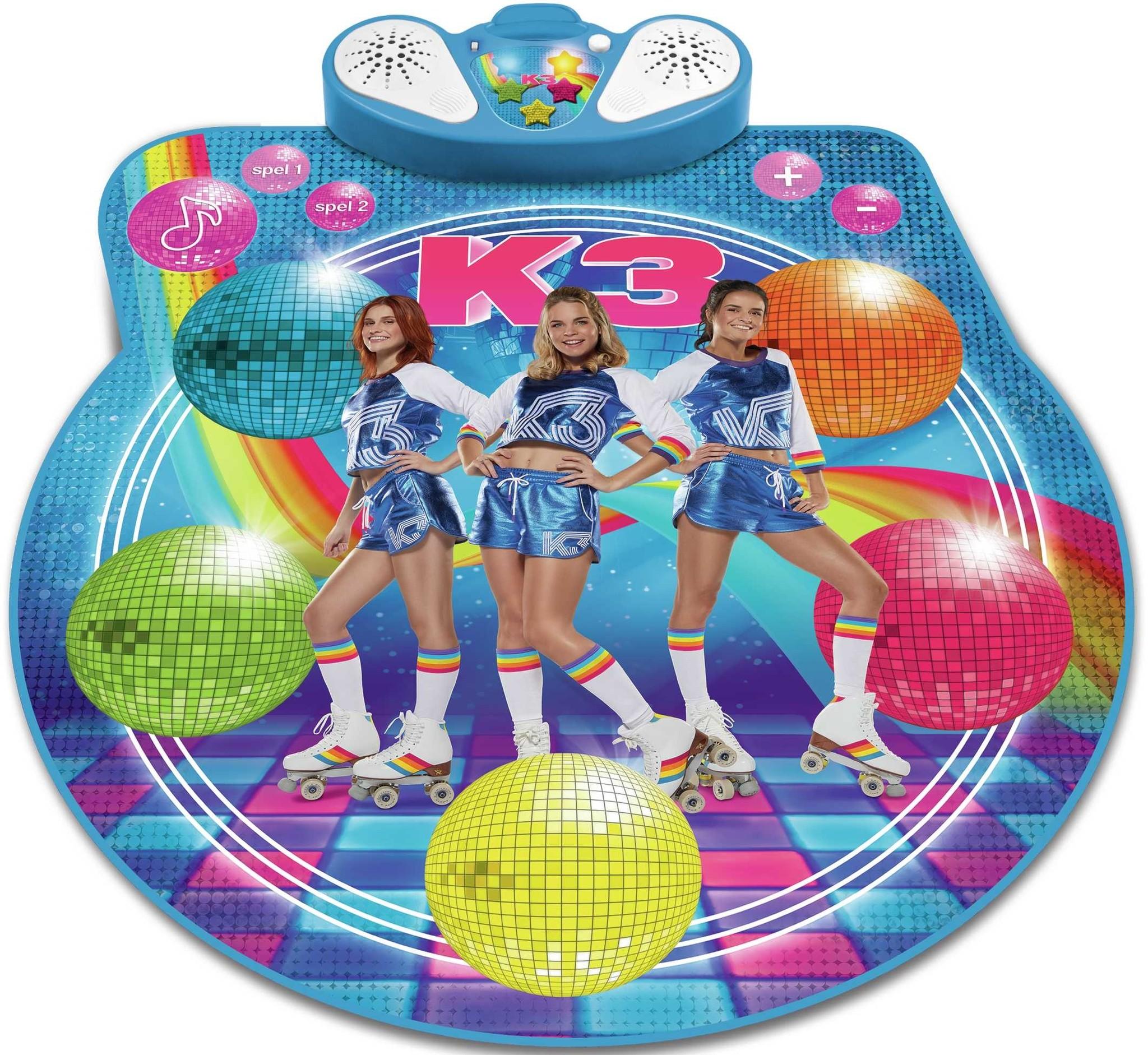 Dansmat K3: Rollerdisco 2.0