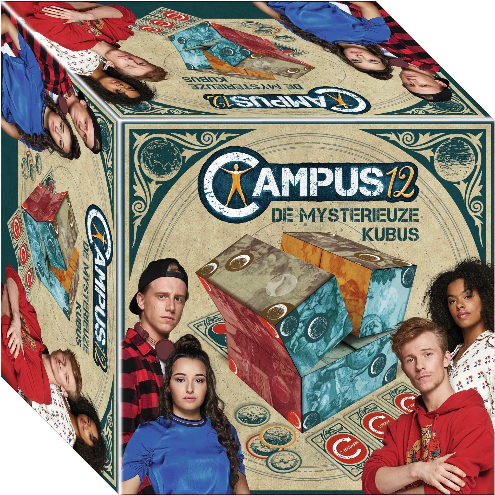 Campus 12 : jeu - Le Cube Mystérieux