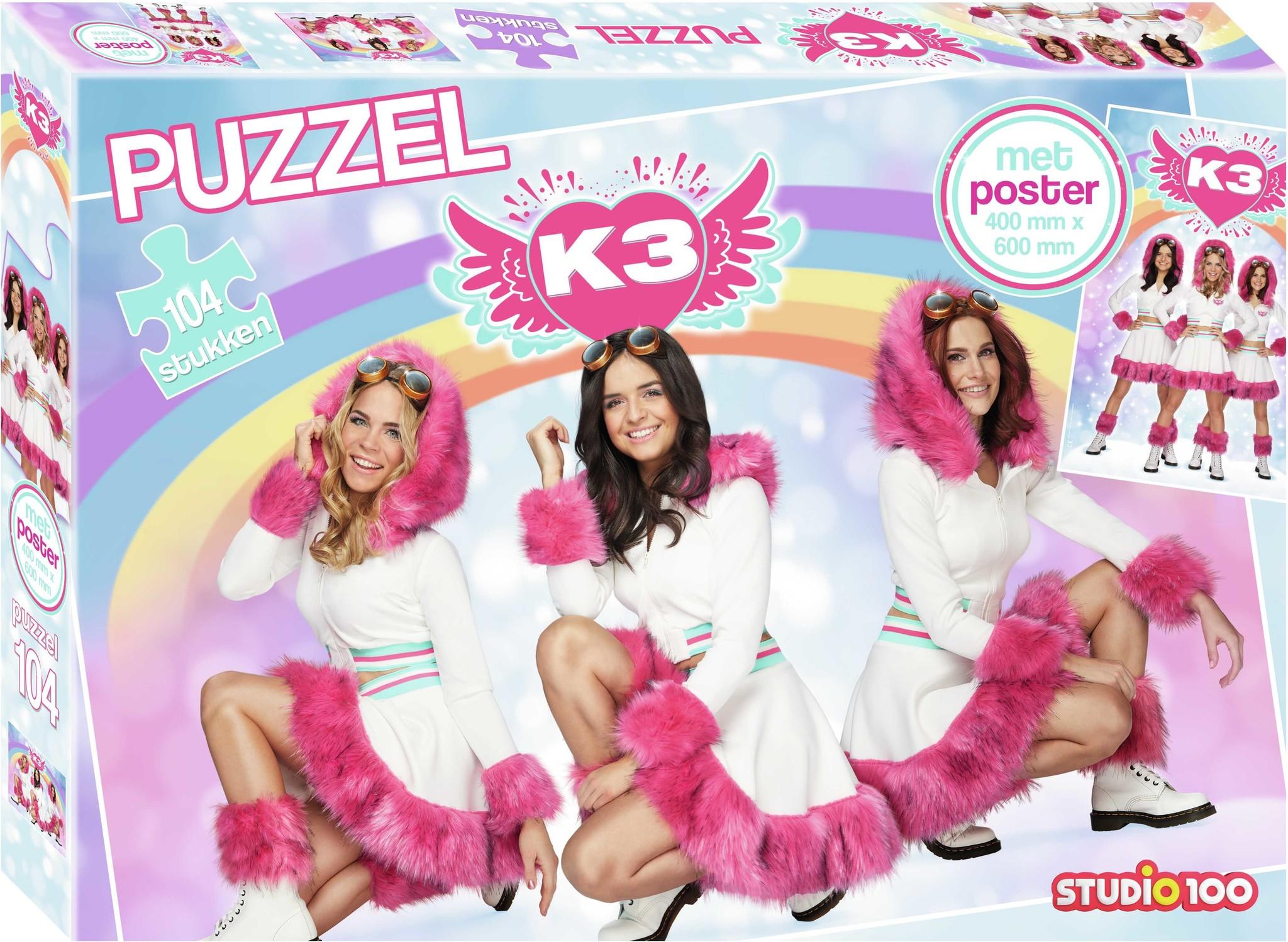 K3 : puzzle avec poster - rêves