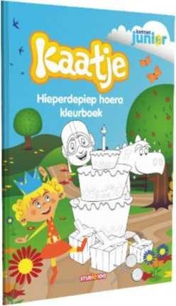 Kleurboek Kaatje: Verjaardag