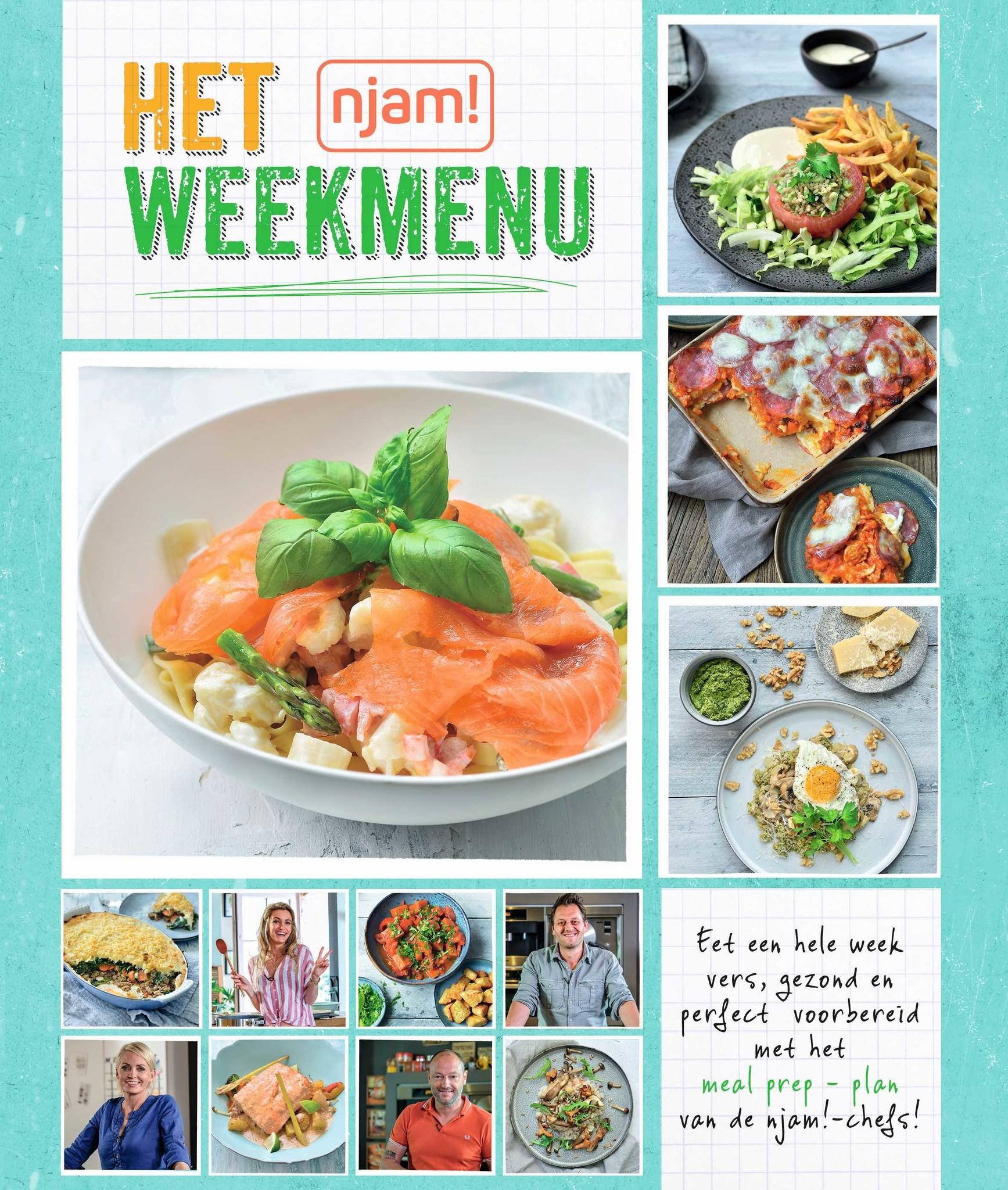 Livre Njam : Le menu de la semaine