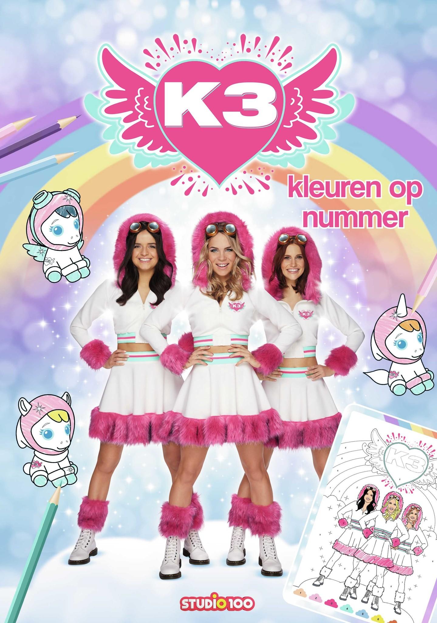 Kleurboek K3: dromen