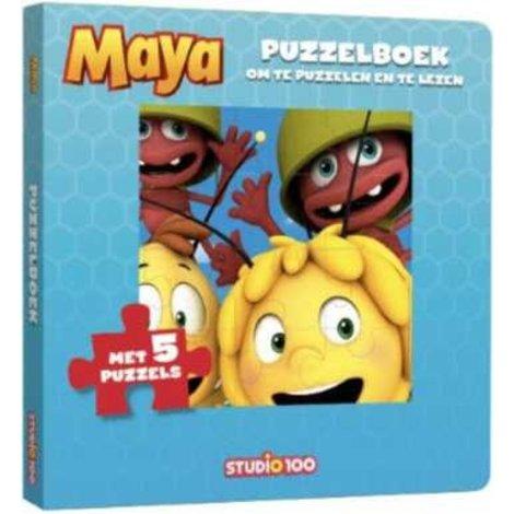 Boek Maya: Puzzelboek