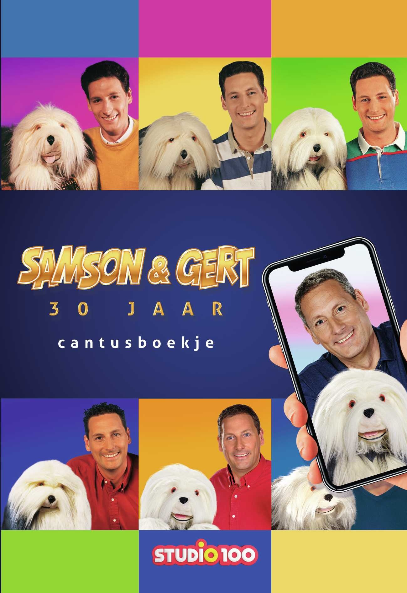 Livre Samson et Gert : Cantusboek