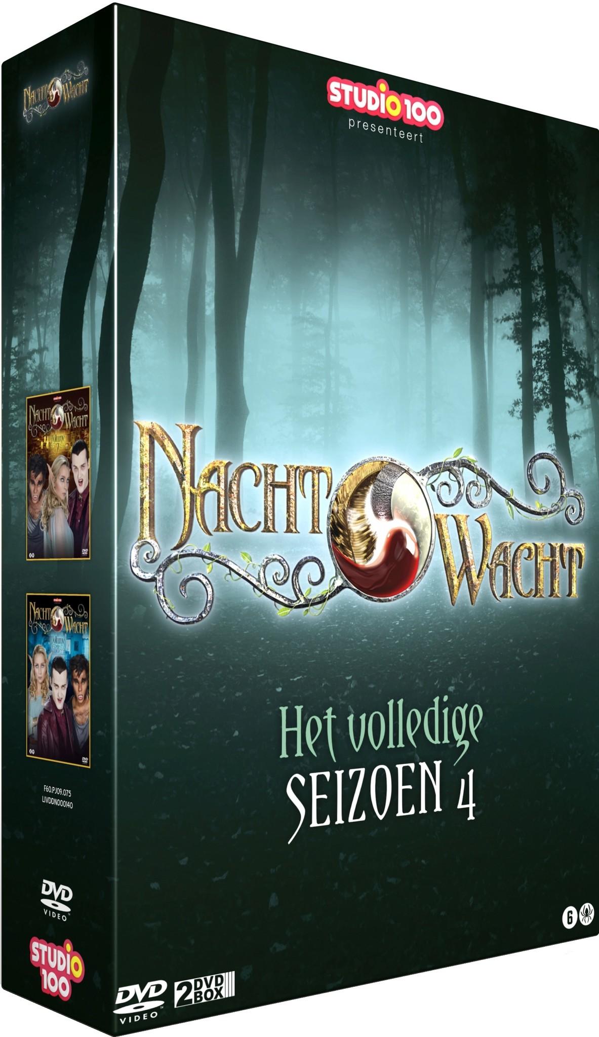 Nachtwacht DVD Box: seizoen 4
