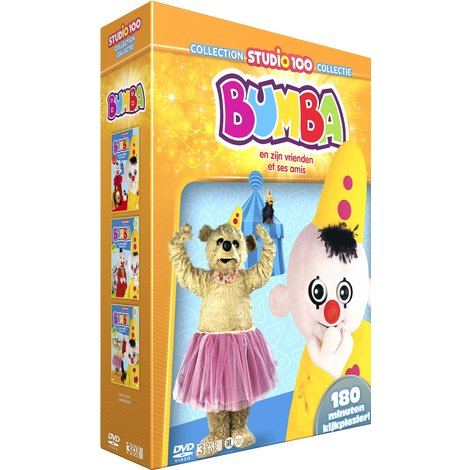 Bumba DVD Box: Bumba and his friends