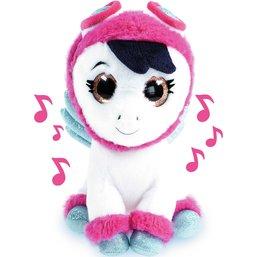 K3 : peluche Pegasus 20 cm avec K3 musique