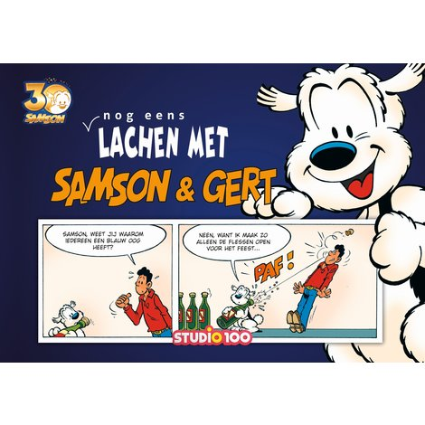 Boek Samson en Gert: Nog eens lachen met Samson en Gert