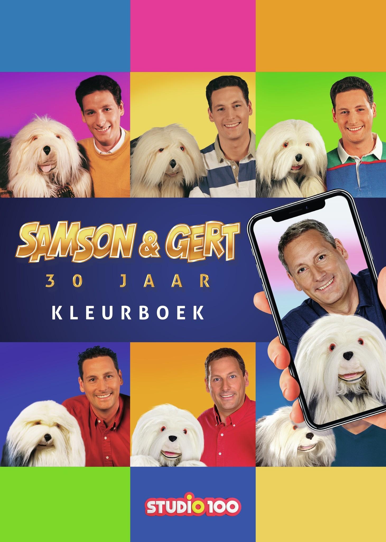 Coloriage Samson et Gert : 30 ans Samson et Gert