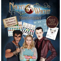 Boek Nachtwacht: Monstermaker 2